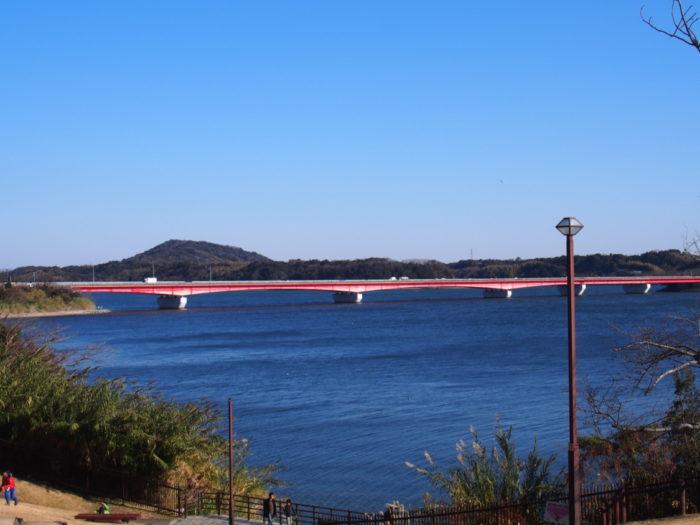 浜名湖SA 浜名湖の橋