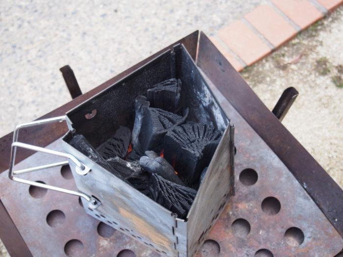 南淡路シーサイドキャンプ場 火おこし器