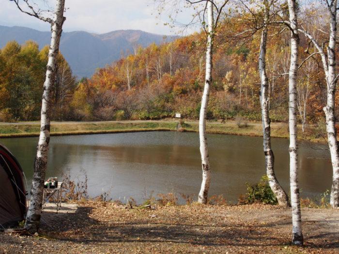 高ソメキャンプ場 湖畔サイト