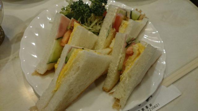 喫茶ローレン サンドイッチ