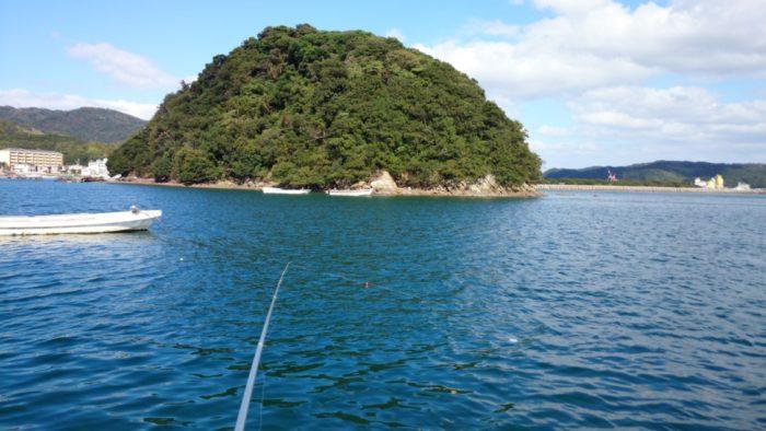 2014-10-23 南淡路シーサイドキャンプ場 目の前の島
