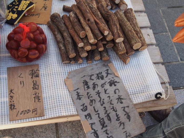 2014-09-13 輪島朝市 マタタビの木