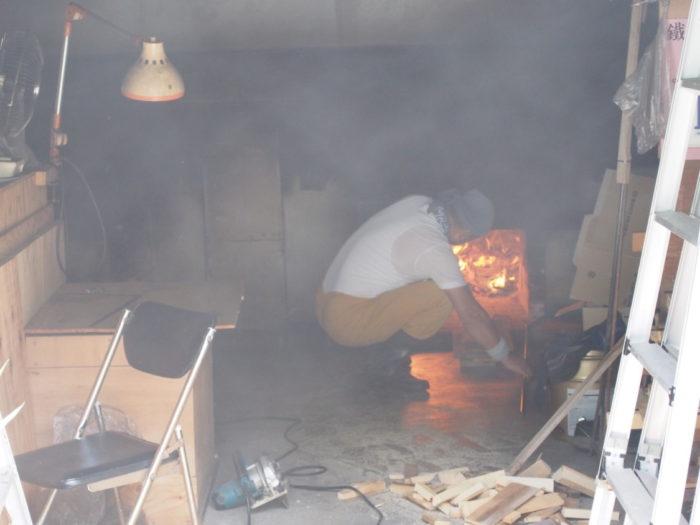 2014-09-13 塩の駅 釜の火入れ