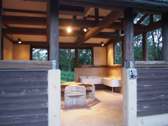 2014-09-13鉢ヶ崎オートキャンプ場 炊事棟