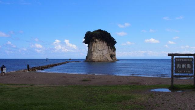 2014-09-14 見附島 全体