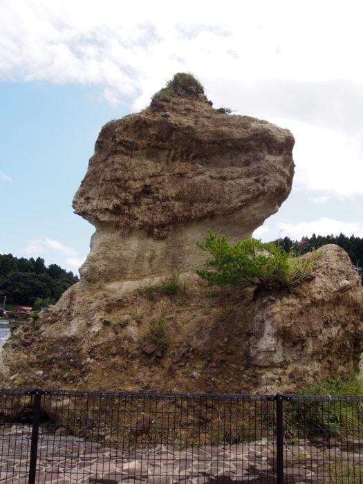 2014-09-14 恋路海岸 ソフトクリーム岩