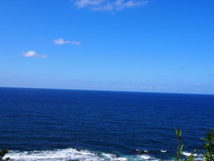 2014-09-14 禄剛埼灯台 青い海と青い空