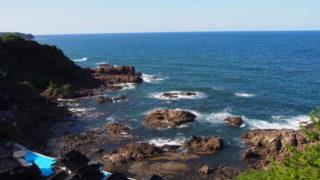 2014-09-14 珠洲岬 空中展望台からの海