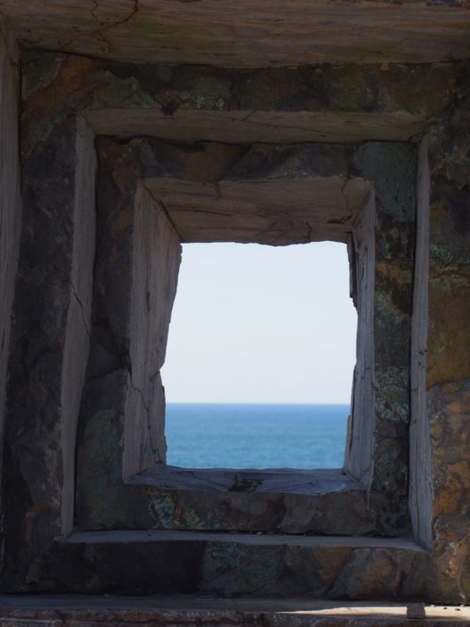 2014-09-14 珠洲岬 岩の額縁からの景色