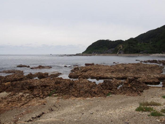 2014-09-15 道の駅すず塩田村 裏の磯場