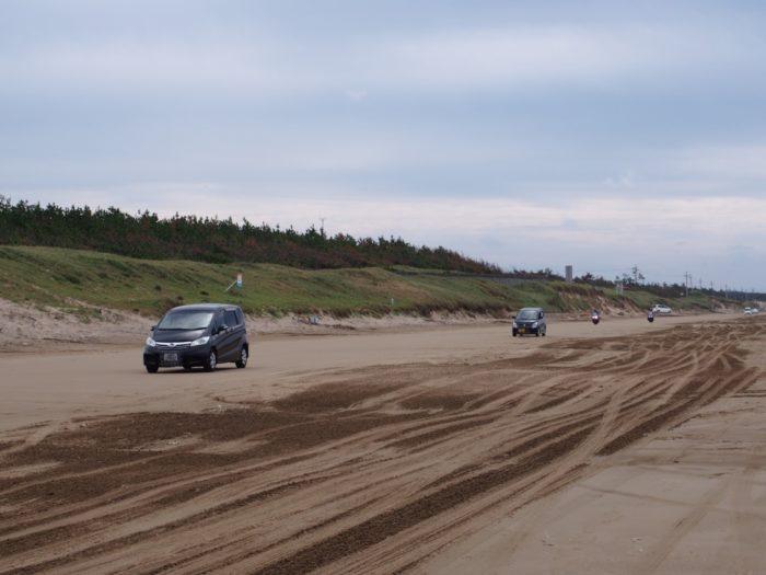 2014-09-15 千里浜なぎさドライブウェイ バイクも走ってる