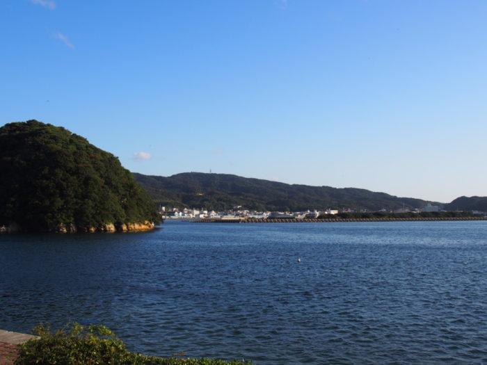 2014-10-23 南淡路シーサイドキャンプ場 きれいな海