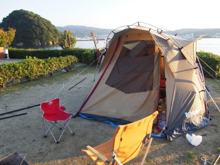 2014-10-24 南淡路シーサイドキャンプ場 サイト