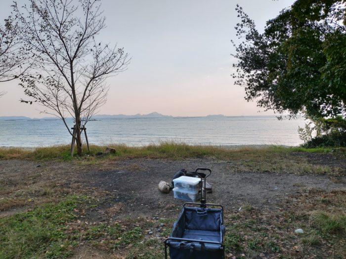 2019-11-01 丸山県民サンビーチ オーシャンビュー