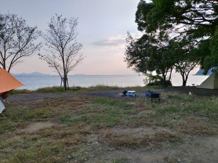 2019-11-01 丸山県民サンビーチ テントスペース
