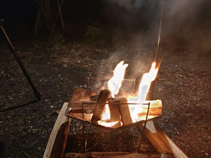 2019-11-01 丸山県民サンビーチ 炭火起こし