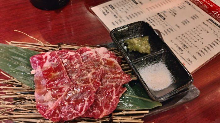 王道住之江店 サービスの肉