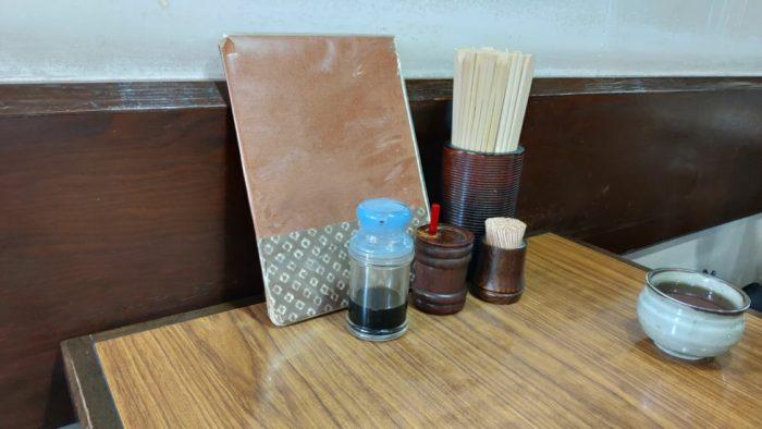 住之江 安立 たき徳 テーブル