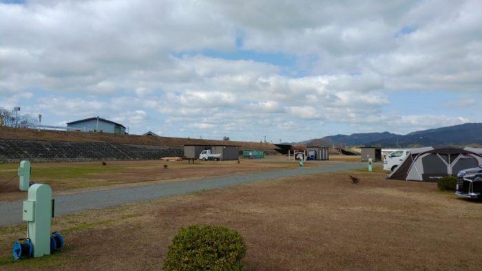 2020-01-18野口オートキャンプ場 広々サイト