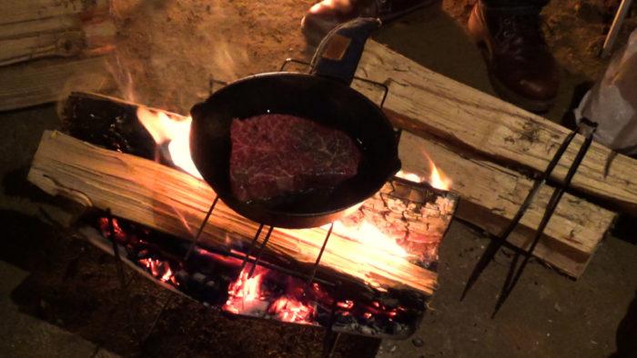 2019-12-14 木もれ陽の森 良いお肉のステーキ