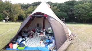 2019-11-14 リゾート大島 強風に耐えたTPクレスト