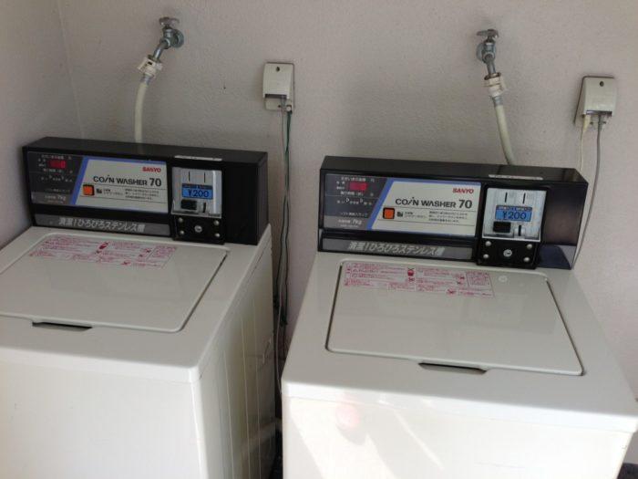 2013-05-01南レクオートキャンプ場 洗濯機