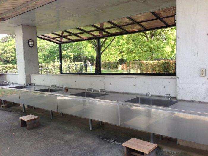 2013-05-01南レクオートキャンプ場 炊事場