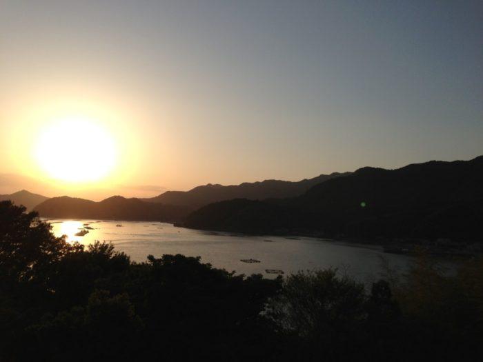 2013-05-01南レクオートキャンプ場 最高の夕日