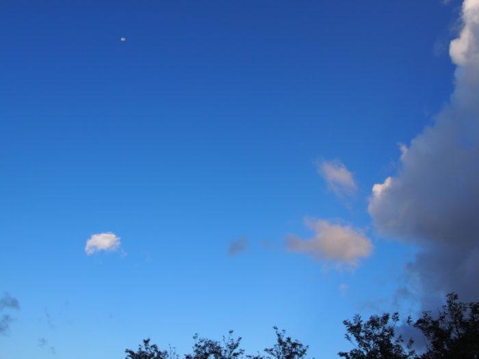 2014-09-14鉢ヶ崎オートキャンプ場 きれいな青空