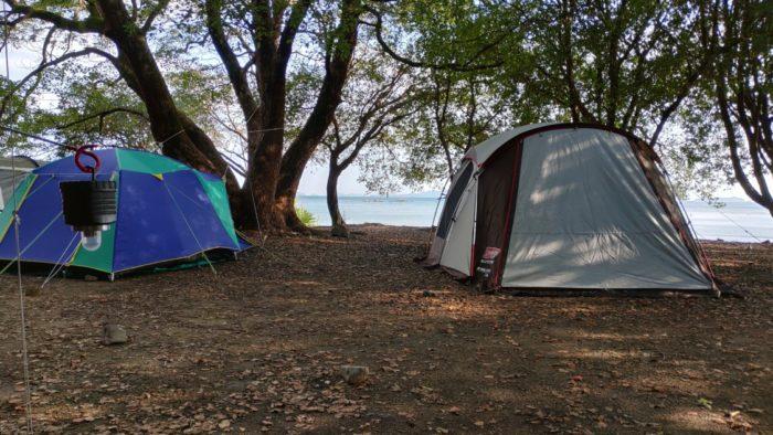 2020-10-23 丸山県民サンビーチ サイトの正面