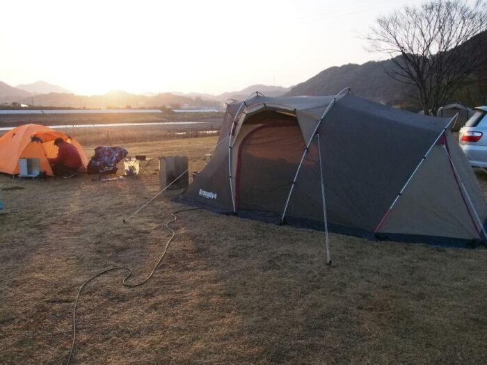 野口オートキャンプ場 アルマディ4